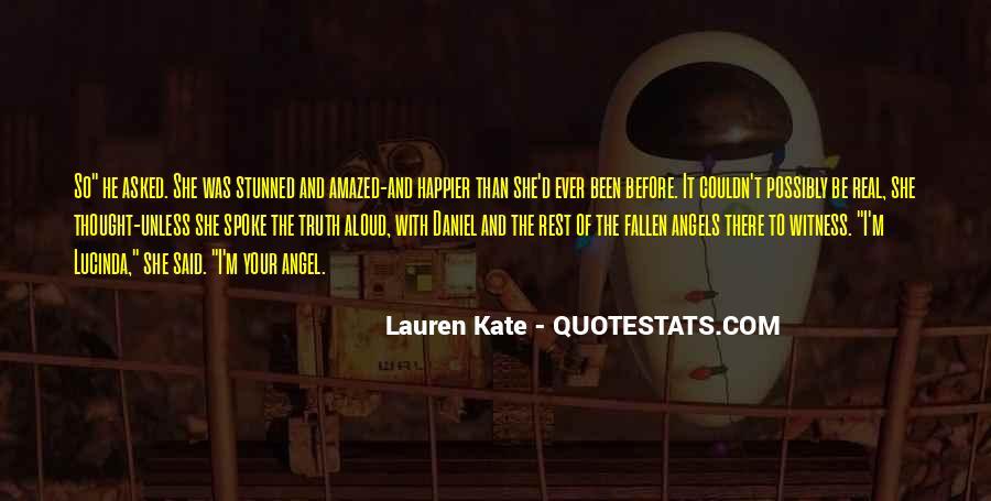 Fallen Angel Sayings #1442363