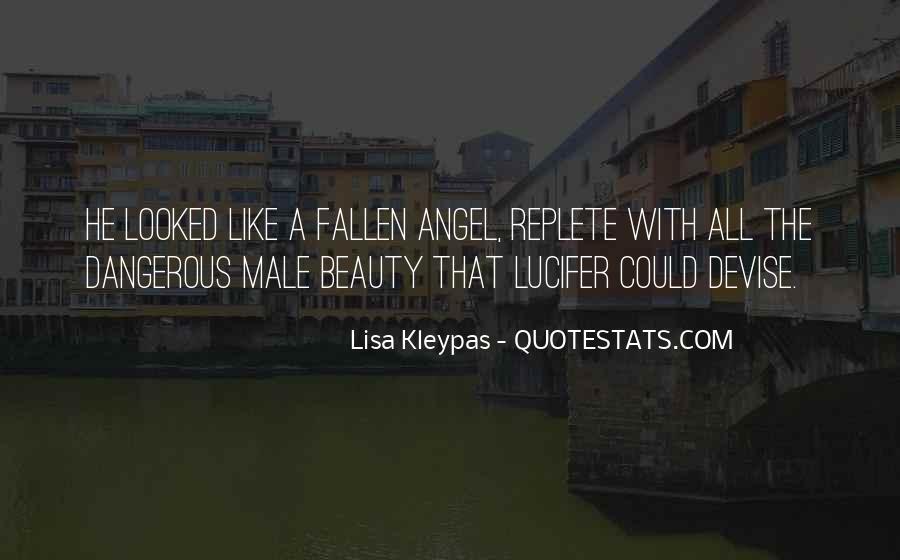 Fallen Angel Sayings #1609696