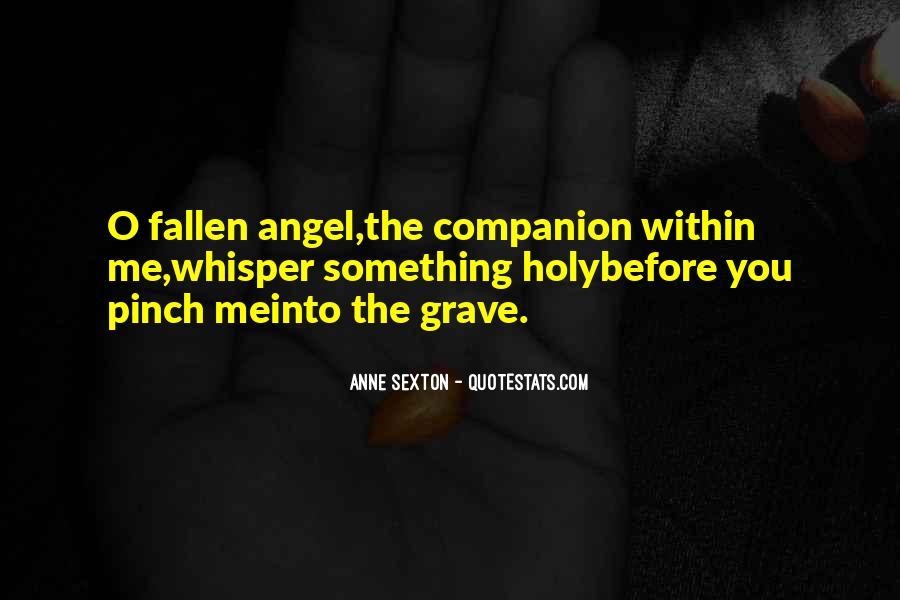 Fallen Angel Sayings #746185
