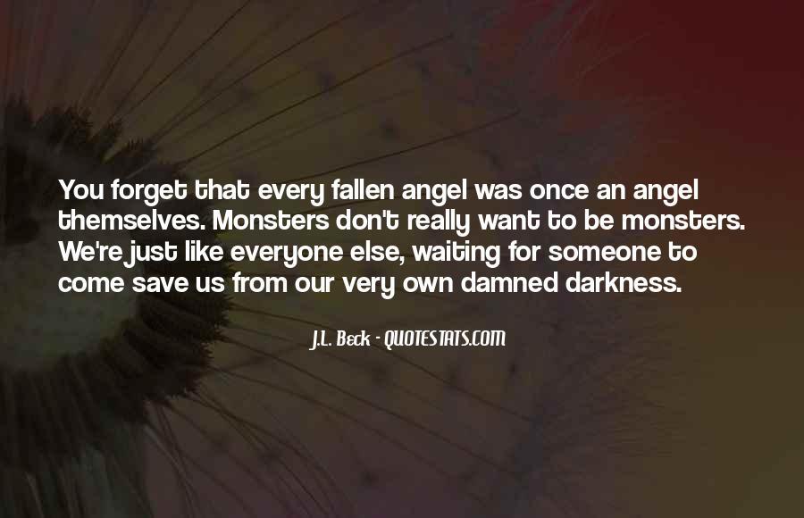 Fallen Angel Sayings #773478