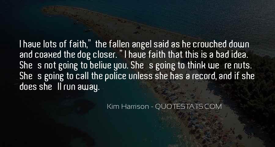 Fallen Angel Sayings #807356