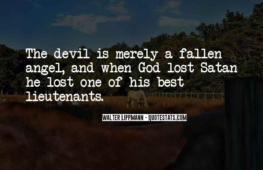 Fallen Angel Sayings #808516