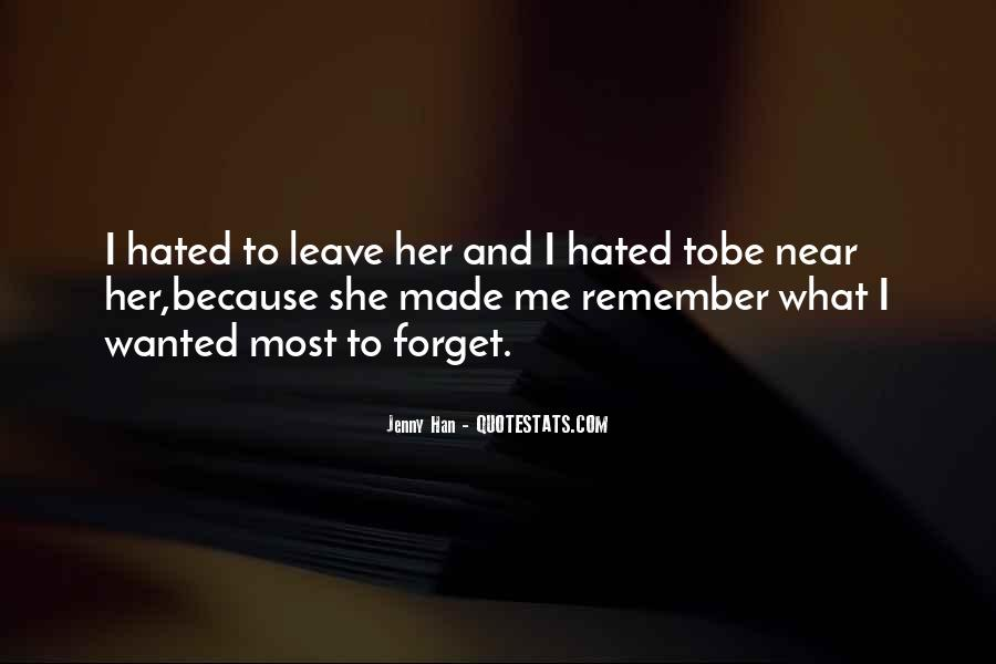 Forget Me Sayings #107160