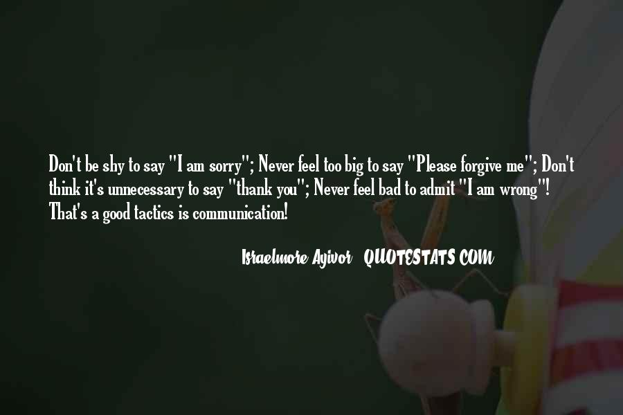 Forget Me Sayings #109366