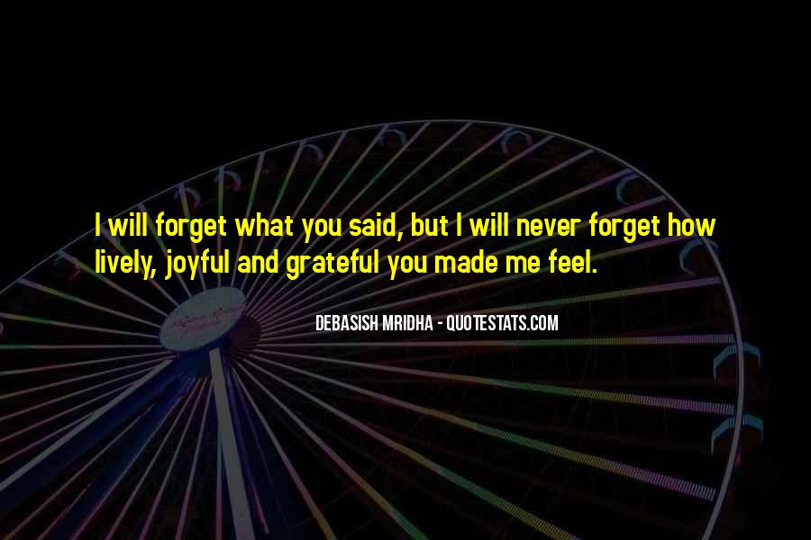 Forget Me Sayings #133537