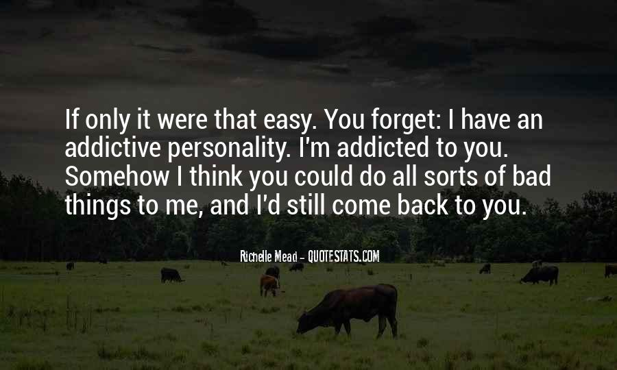 Forget Me Sayings #149424