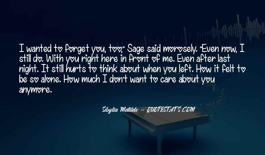 Forget Me Sayings #38570