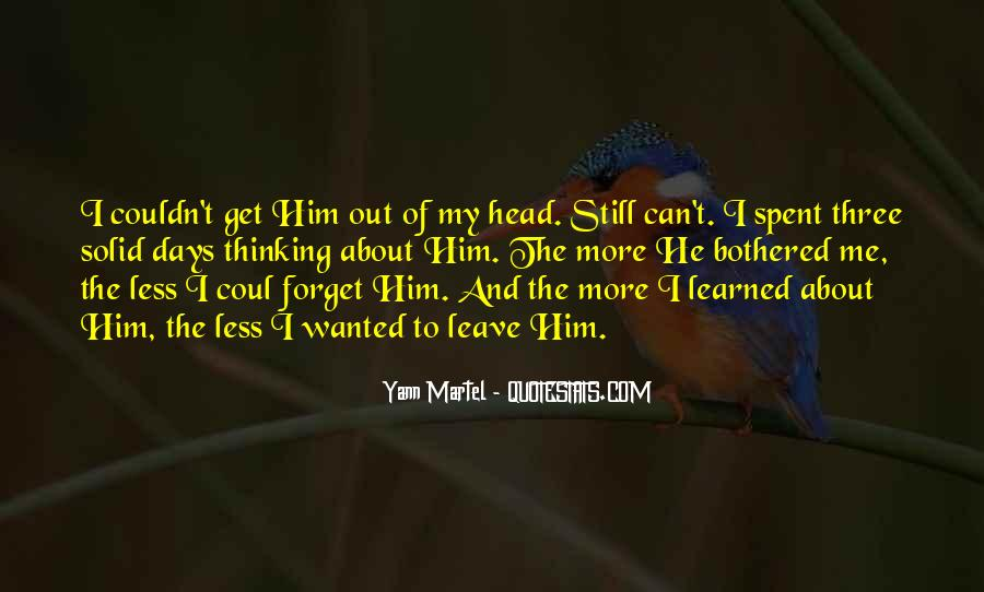 Forget Me Sayings #71605
