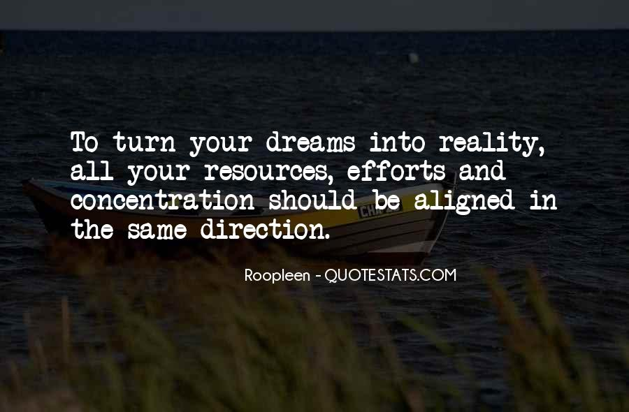 Quotes About Dreams And Reality #21243