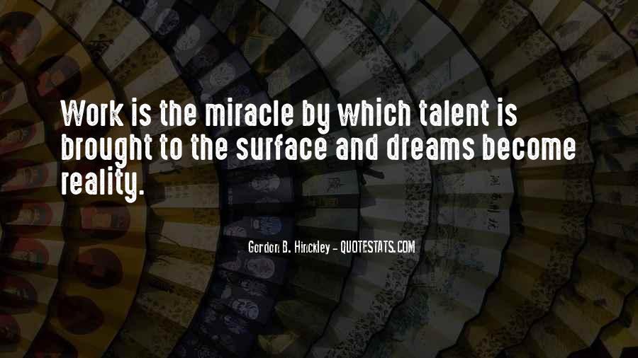 Quotes About Dreams And Reality #235831