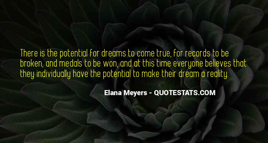 Quotes About Dreams And Reality #248178