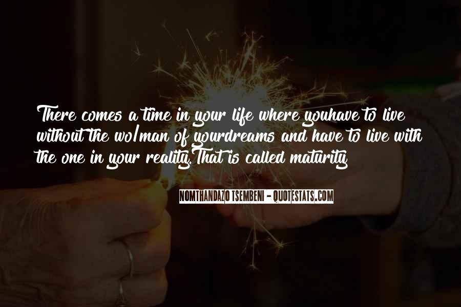 Quotes About Dreams And Reality #312795