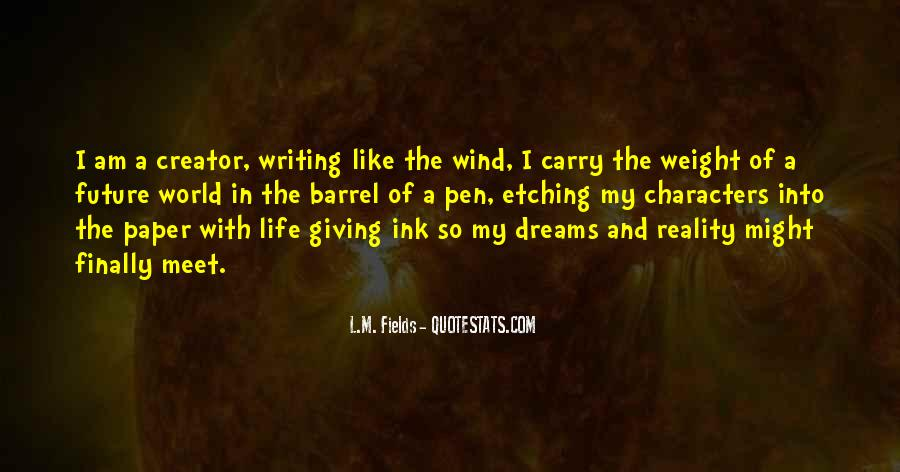 Quotes About Dreams And Reality #315256