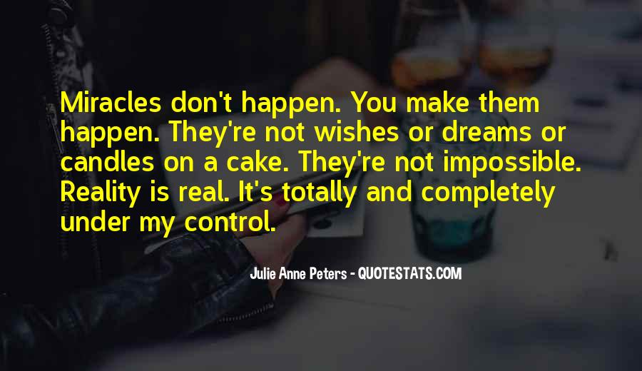 Quotes About Dreams And Reality #388136