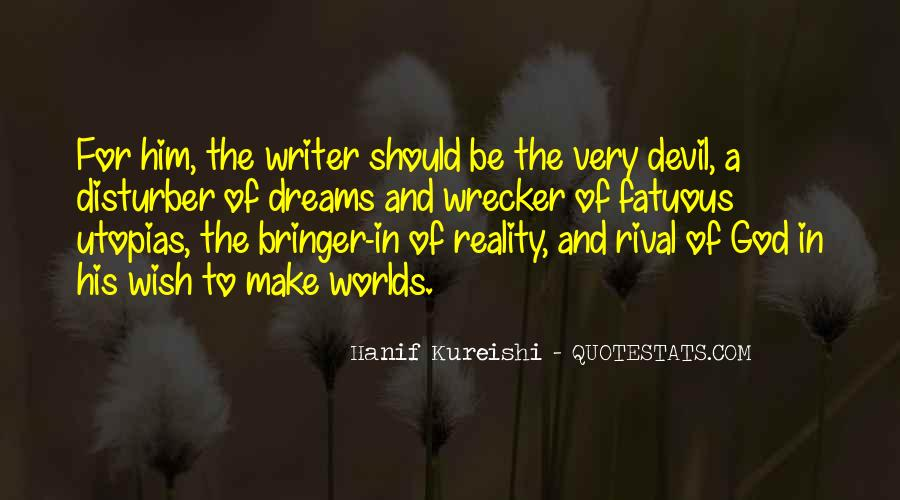 Quotes About Dreams And Reality #68520