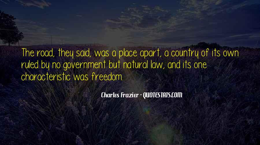 Freedom Quotes And Sayings #1035815