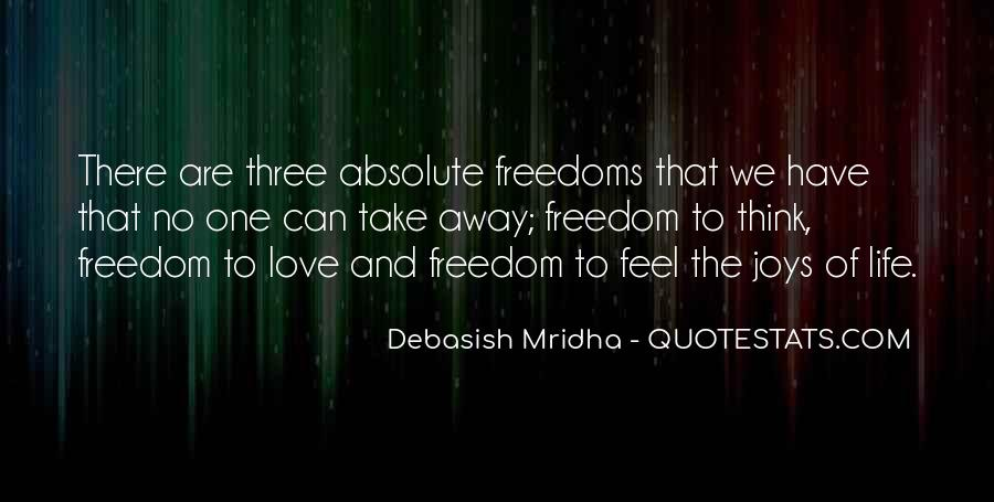 Freedom Quotes And Sayings #154064