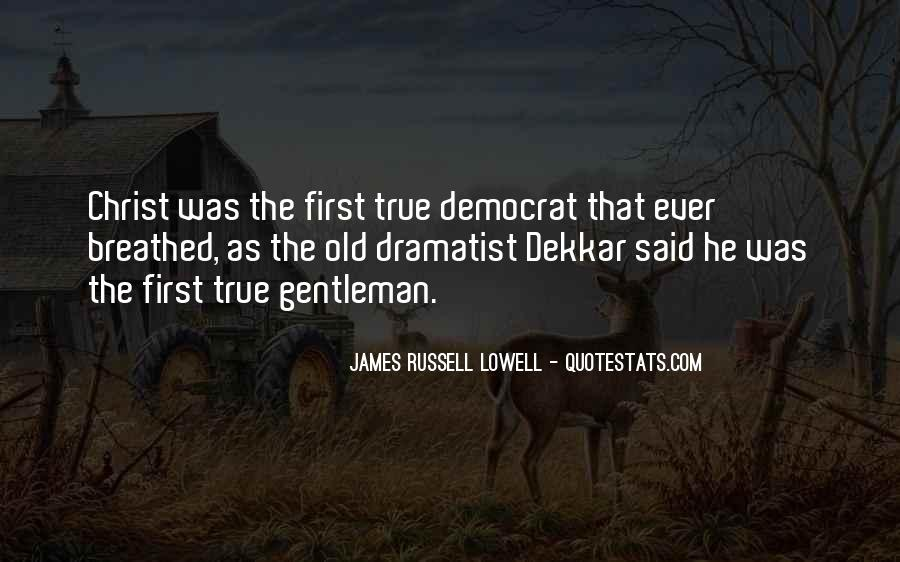 True Gentleman Sayings #118316