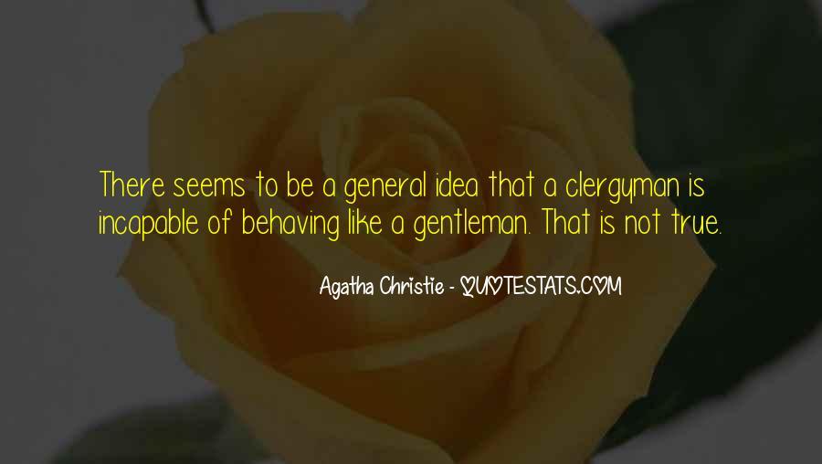 True Gentleman Sayings #1663959