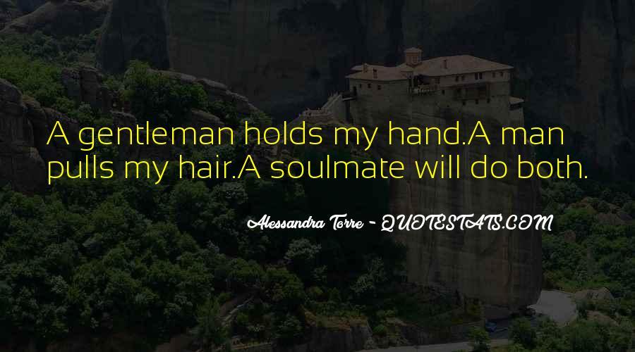 True Gentleman Sayings #407205