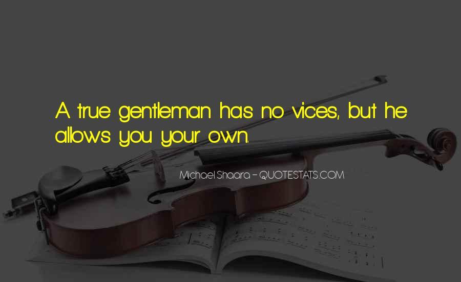 True Gentleman Sayings #426789