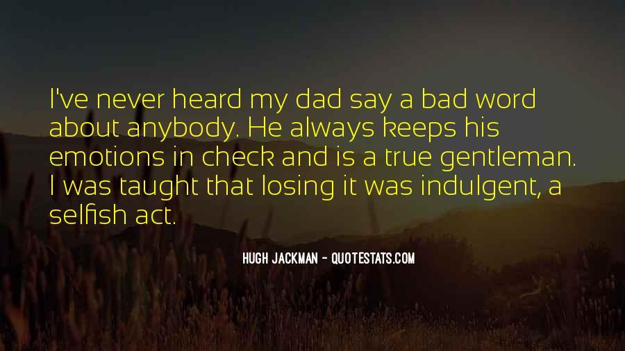 True Gentleman Sayings #492297