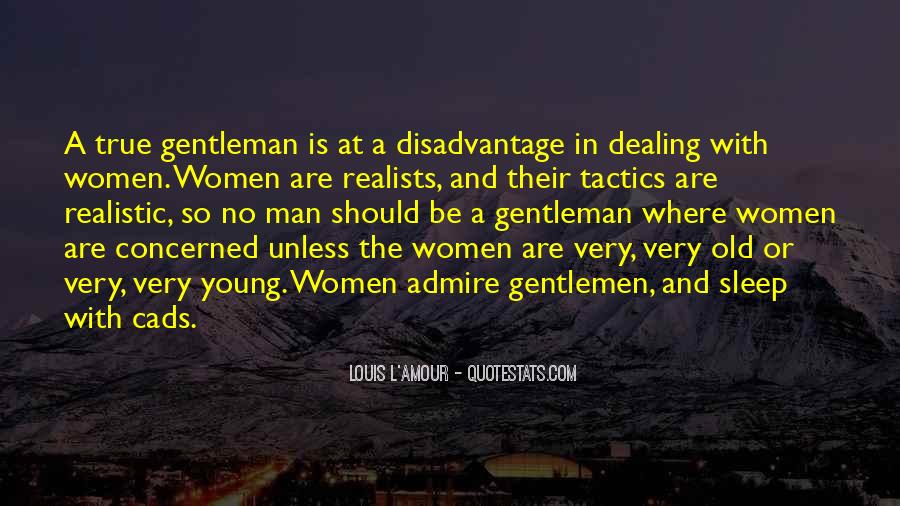 True Gentleman Sayings #575045
