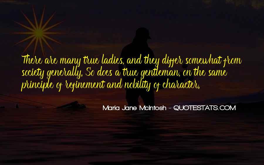 True Gentleman Sayings #844675