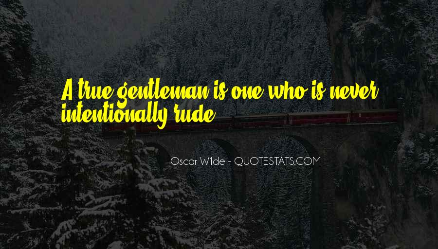 True Gentleman Sayings #866229