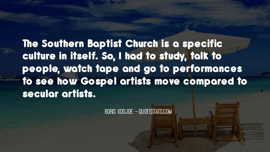 Gospel Church Sayings #287451