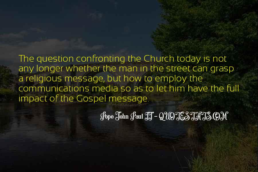 Gospel Church Sayings #332286