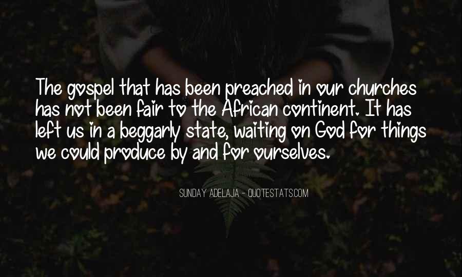 Gospel Church Sayings #440525
