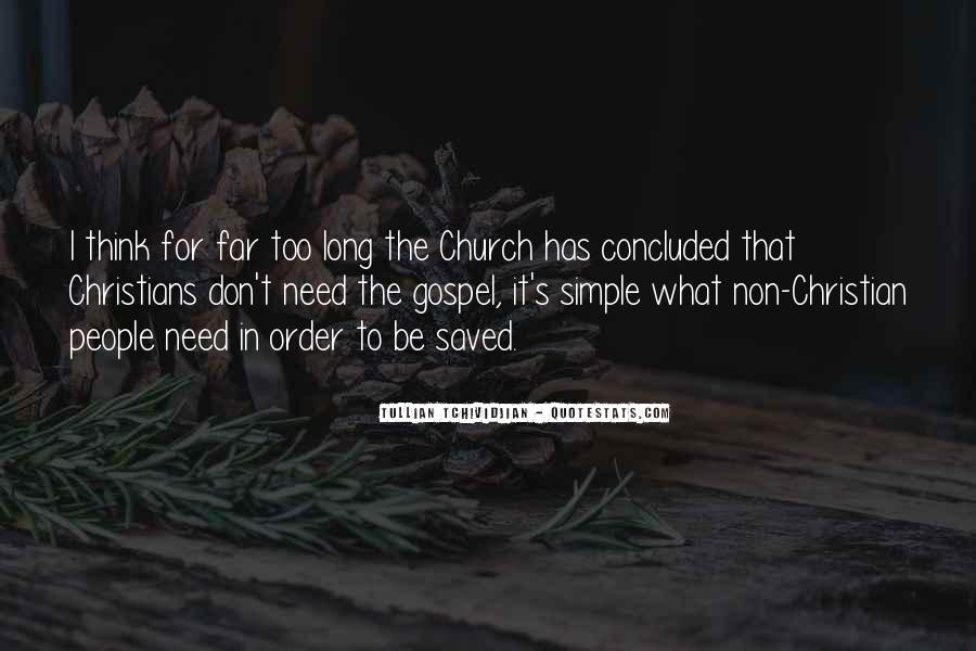Gospel Church Sayings #787243