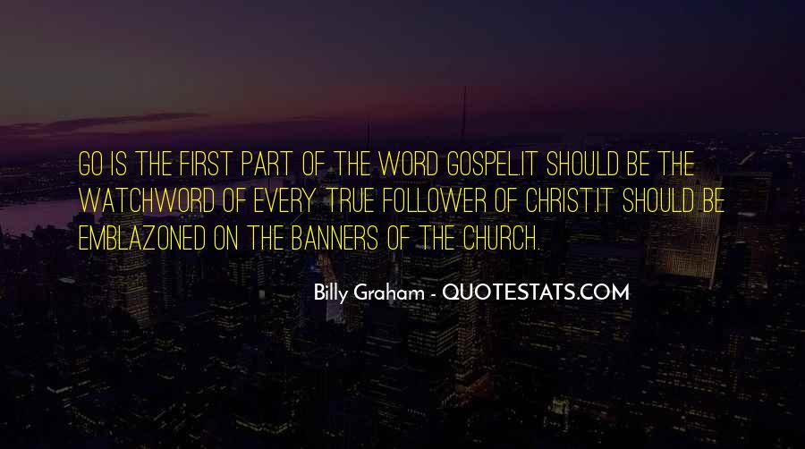 Gospel Church Sayings #856164