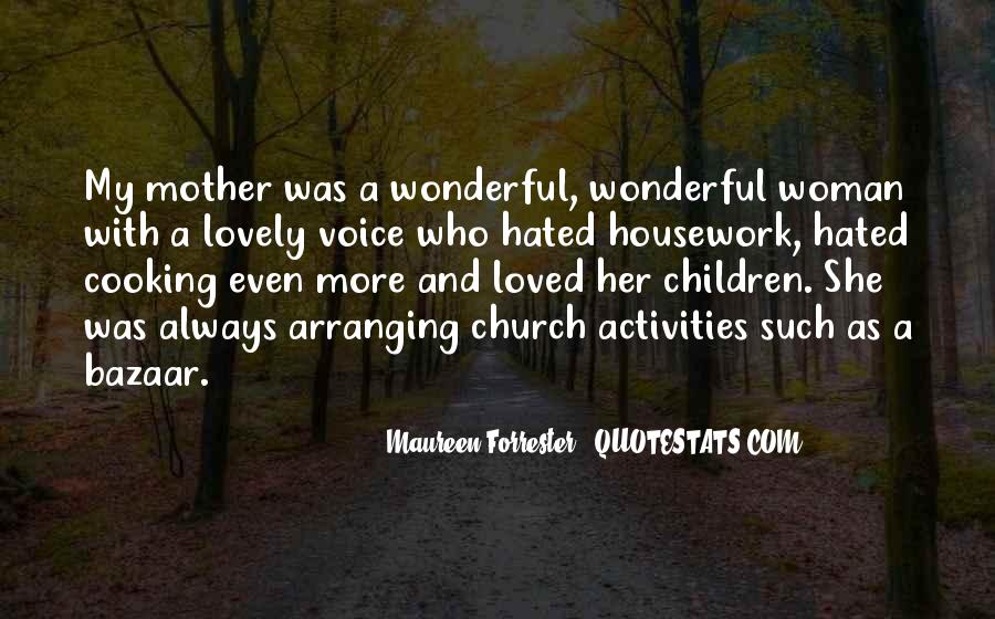 Quotes About My Lovely Mother #523780