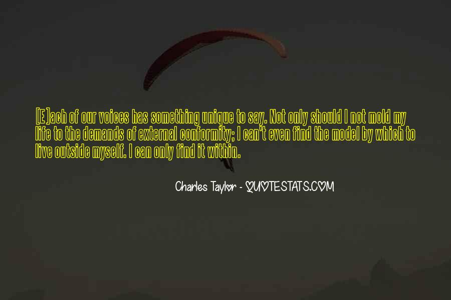 Quotes About Individuality Vs. Conformity #316732