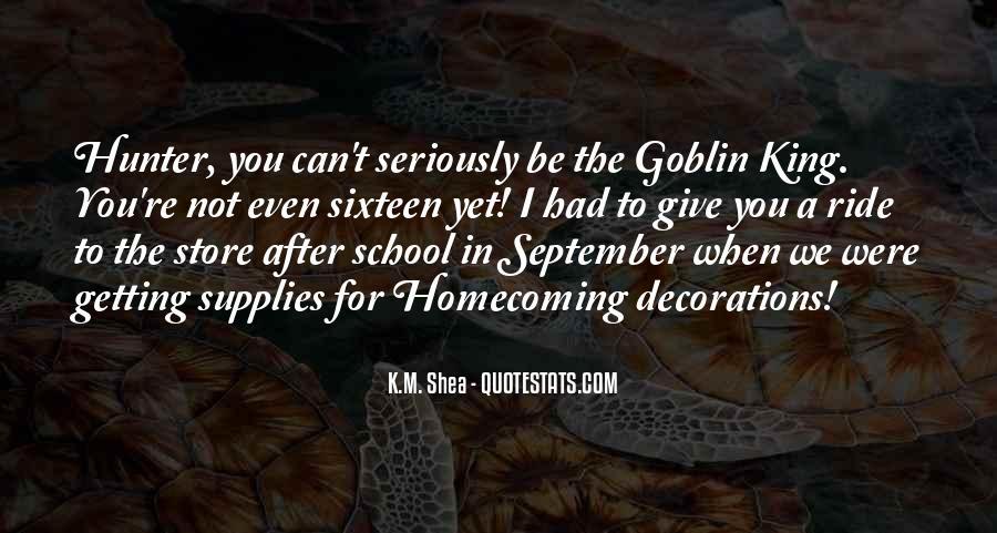 Goblin King Sayings #640800