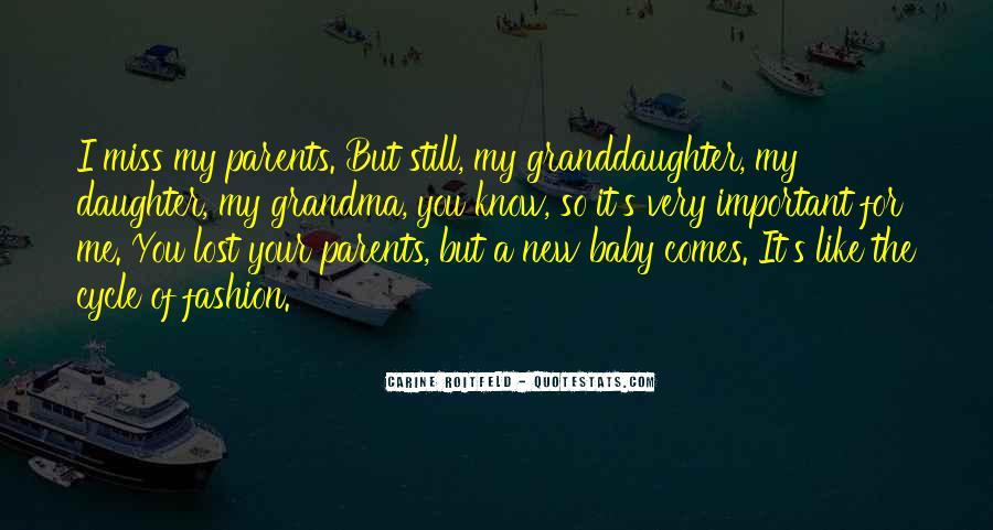 Baby Granddaughter Sayings #215364
