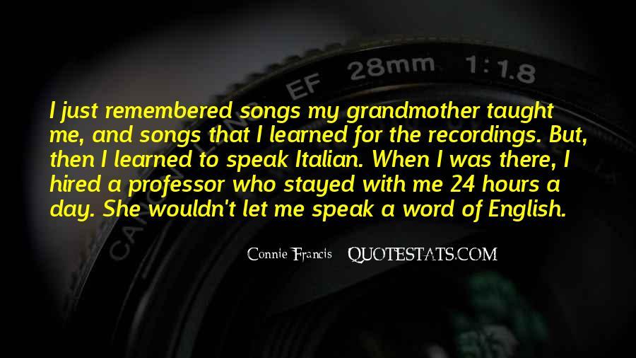 Italian Grandmother Sayings #1816771