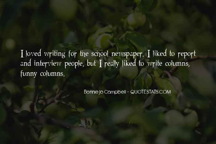 Quotes About Newspaper Writing #1125818