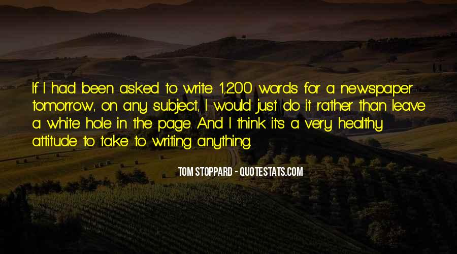 Quotes About Newspaper Writing #1137119