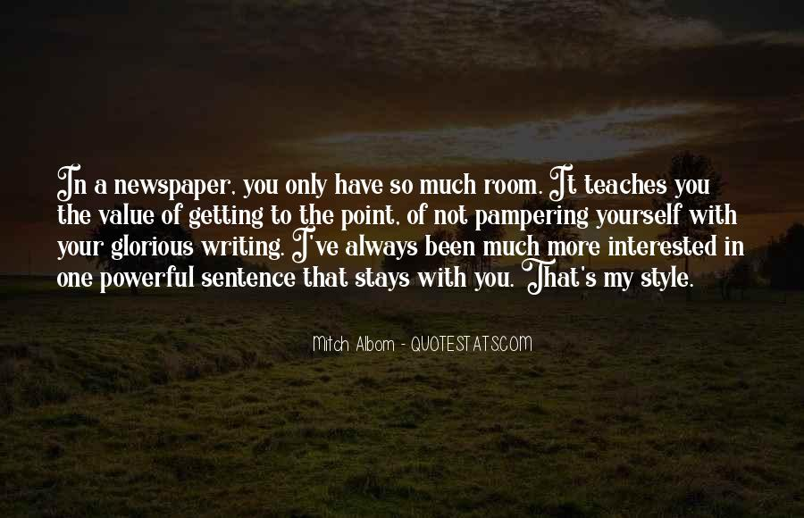 Quotes About Newspaper Writing #1150914