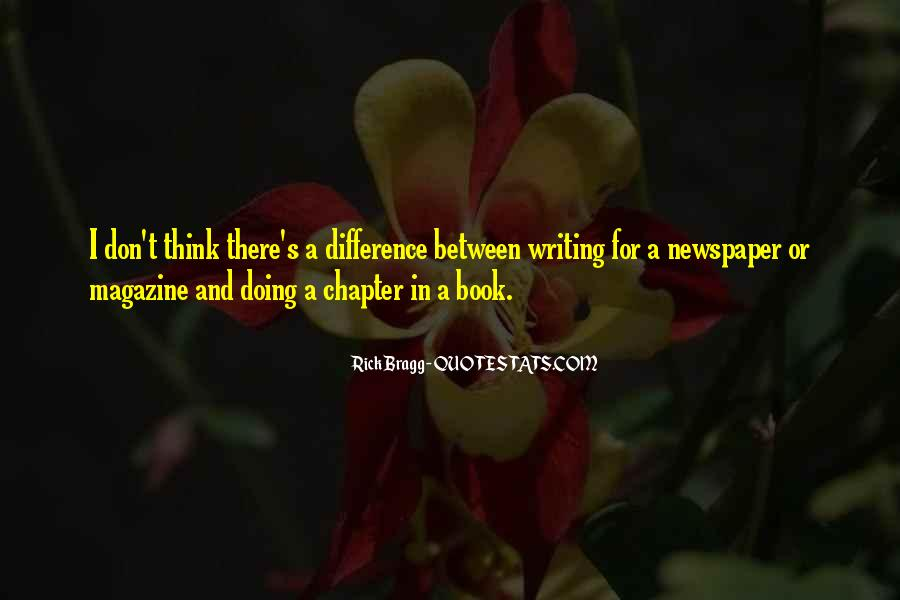 Quotes About Newspaper Writing #1267619