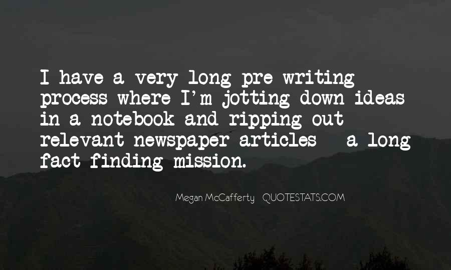 Quotes About Newspaper Writing #1334284