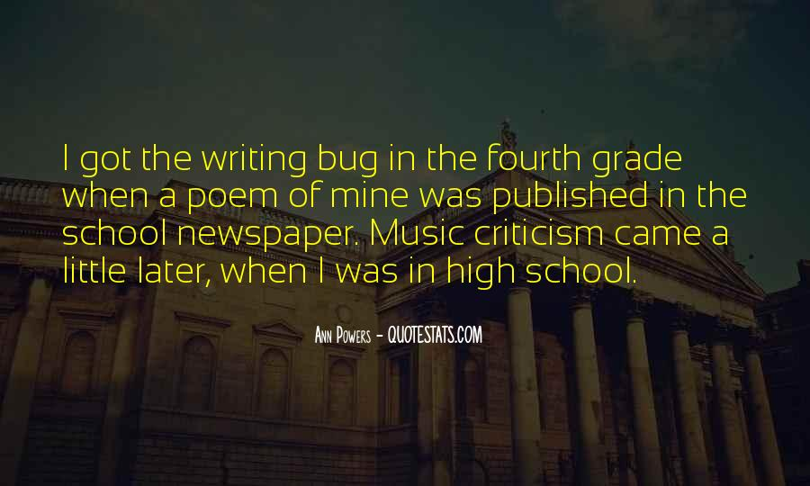 Quotes About Newspaper Writing #1375393