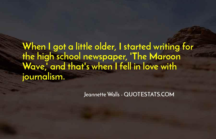 Quotes About Newspaper Writing #1429339
