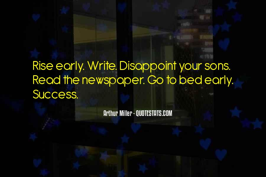 Quotes About Newspaper Writing #1485801
