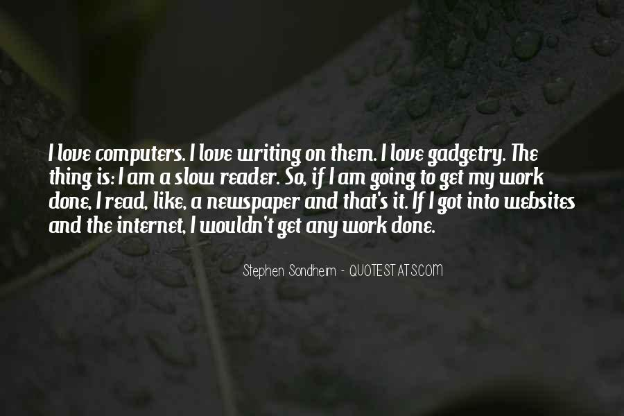 Quotes About Newspaper Writing #1540296