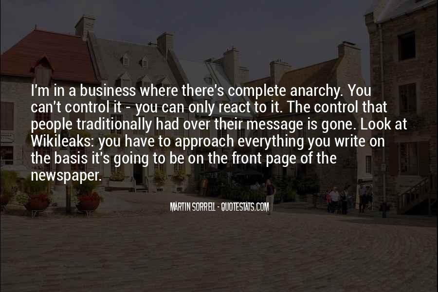 Quotes About Newspaper Writing #33896