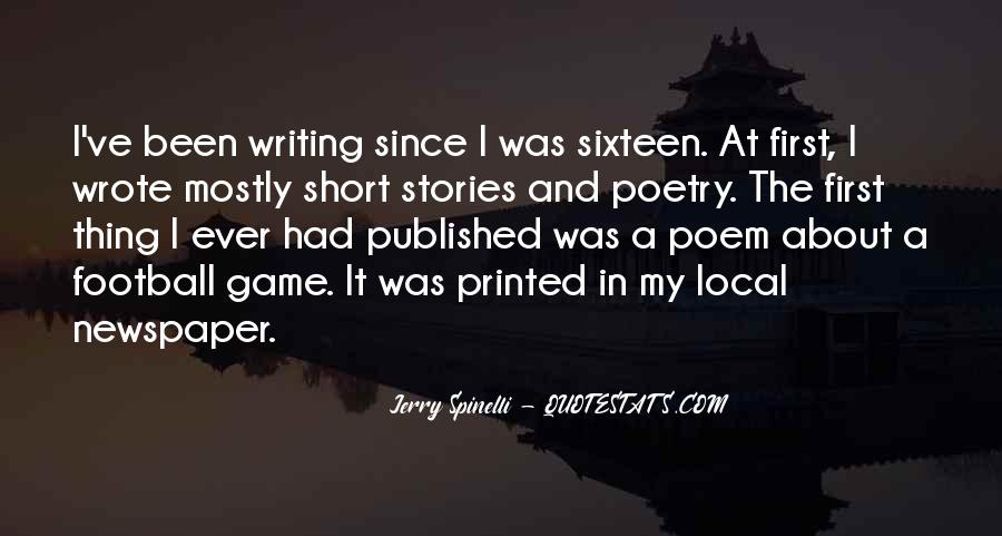 Quotes About Newspaper Writing #343996